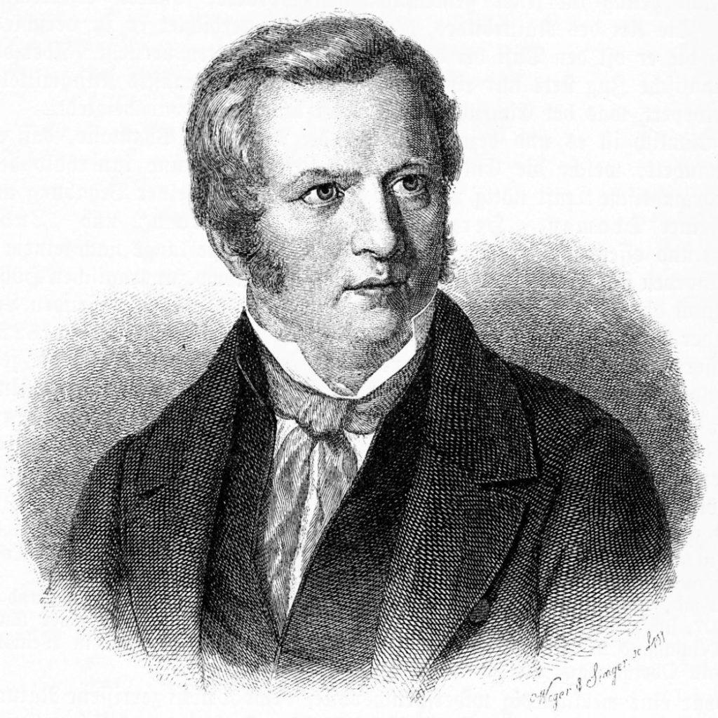 Gustav Schwab Proträt